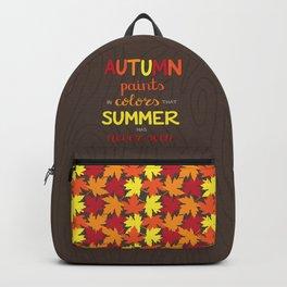 Autumn Paints Backpack