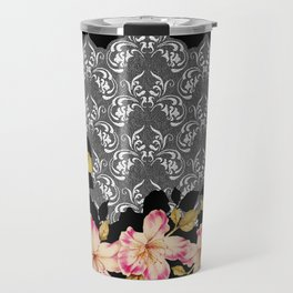 Azelea Border Travel Mug