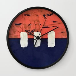 Stitch in Time Wall Clock