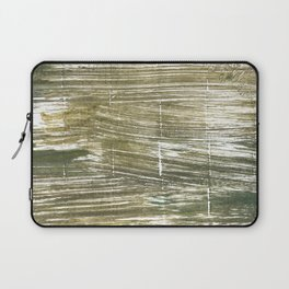 Dark green abstract Laptop Sleeve