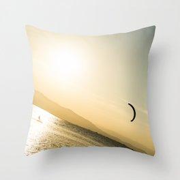 Persigue tus sueños Throw Pillow