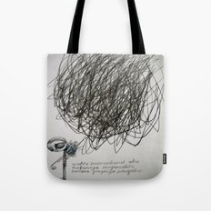 time, city and lost dream Tote Bag