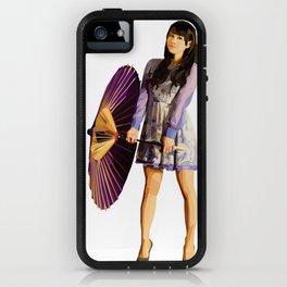 Purple Umbrella iPhone Case