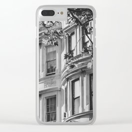 Upper West Side Dreaming Clear iPhone Case
