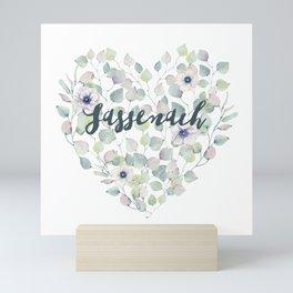 SASSENACH HEART Mini Art Print