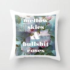 Mellow Skies Throw Pillow