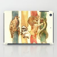 house stark iPad Cases featuring House Brawl by Alice X. Zhang