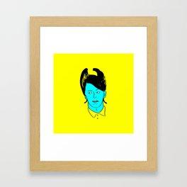 Chandler Bing Framed Art Print