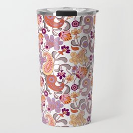 Pastel Paisleys Travel Mug