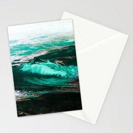 Vague dans caverne / wave in cave Stationery Cards