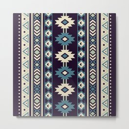 Indian Designs 232 Metal Print