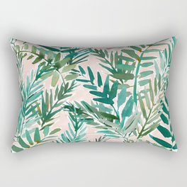 LUSH BLUSH Sunset Palms Rectangular Pillow