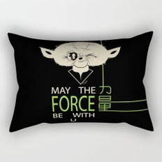 Starwars Yoda - May The Force Be With U Rectangular Pillow