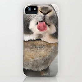 Penelope The Bunny iPhone Case
