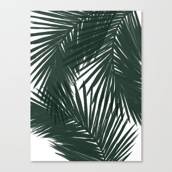 Palms Green Canvas Print