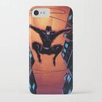 daredevil iPhone & iPod Cases featuring DareDevil by J Skipper