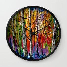 Enchanted Universe Modern Art Wall Clock