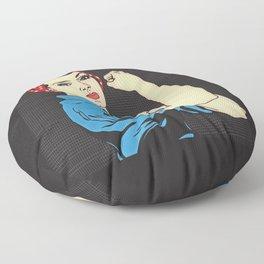 Rosie The Riveter Floor Pillow