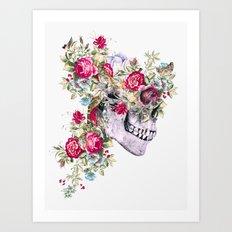 Skull VIII Art Print