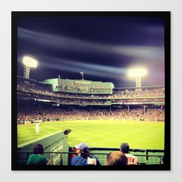 Full House At Fenway Canvas Print
