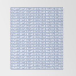 Harry Styles Repeating Throw Blanket