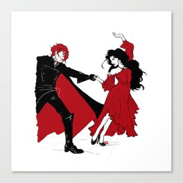The Doctor Dances Canvas Print