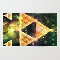 triforce Area & Throw Rugs featuring Triforce by Spires