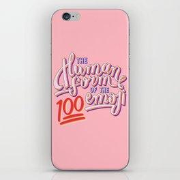 100 Emoji iPhone Skin