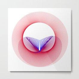Venus - Mars Mandala Metal Print