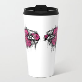 If I Could hide your eyes  Travel Mug