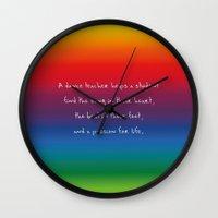 teacher Wall Clocks featuring {Teacher -Dance} by tutubi creative