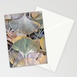 Fall Ginko Leaves Stationery Cards
