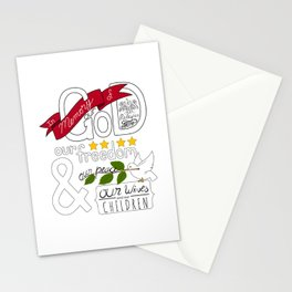 LDS Title of Liberty Stationery Cards