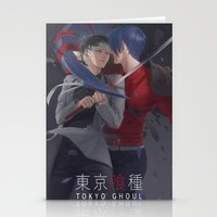 tokyo ghoul Stationery Cards featuring TOKYO GHOUL by Kossoribl