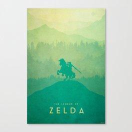 Warrior - The Legend of Zelda Canvas Print