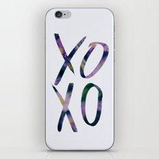XOXO iPhone & iPod Skin