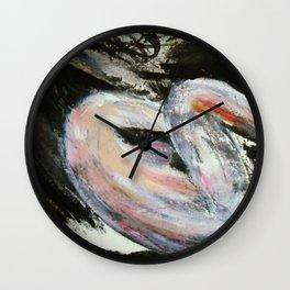 Expressionism Female Study Wall Clock