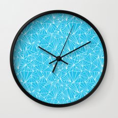 Ab Fan Electric Repeat Wall Clock