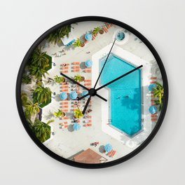 holiday villa in miami Wall Clock