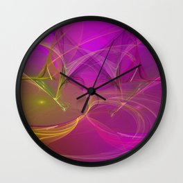 abstract lighteffects -3- Wall Clock