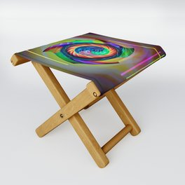 Abstract in perfection 121 Folding Stool