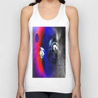 universe Tank Tops featuring universe by Laake-Photos