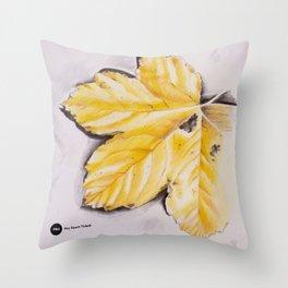 Mellow Yellow Throw Pillow