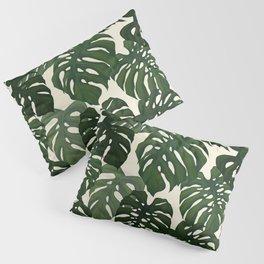 Monstera Pillow Sham
