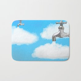 How clouds are formed Bath Mat