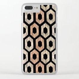 Animal Print Pattern Clear iPhone Case