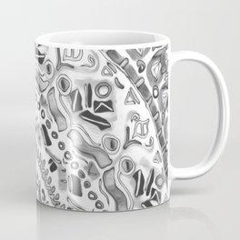 Loose Black&White Tribal Pattern Coffee Mug