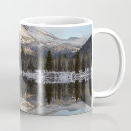 Broken Top sunrise reflection Coffee Mug