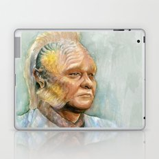Neelix Watercolor Portrait Voyager Talaxian Geek Sci-fi Art Laptop & iPad Skin