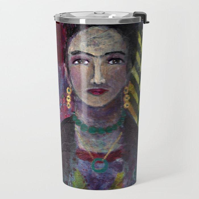 Layers of Frida Travel Mug